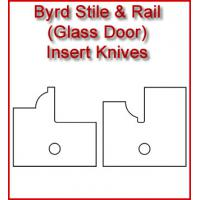 Byrd Glass Door Stile & Rail Inserts
