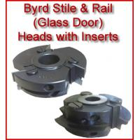 Byrd Glass Door Stile & Rail Heads with Inserts