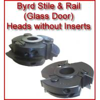 Byrd Glass Door Stile & Rail Heads without Inserts