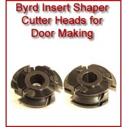 Byrd Insert Shaper Cutter Heads for Door Making