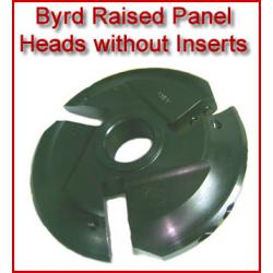 Byrd Raised Panel Heads without Inserts