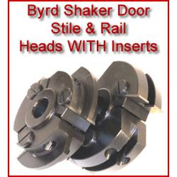 Byrd Shaker Door Stile & Rail Heads with Inserts