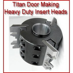 Titan Door Making Heavy Duty Insert Heads