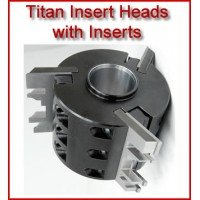 Titan Insert Heads with Inserts