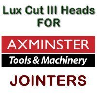 Lux Cut III Heads for Jointers by AXMINSTER