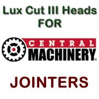 Lux Cut III Heads for Jointers by CENTRAL MACHINERY