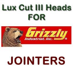 Lux Cut III Heads for Jointers by GRIZZLY