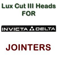 Lux Cut III Heads for Jointers by INVICTA