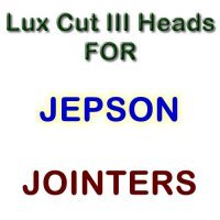 Lux Cut III Heads for Jointers by JEPSON