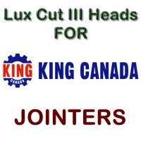 Lux Cut III Heads for Jointers by KING CANADA