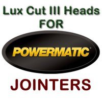 Lux Cut III Heads for Jointers by POWERMATIC