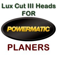 Lux Cut III Heads for Planers by POWERMATIC