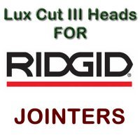 Lux Cut III Heads for Jointers by RIDGID