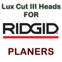 Lux Cut III Heads for Planers by RIDGID