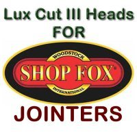 Lux Cut III Heads for Jointers by SHOP FOX