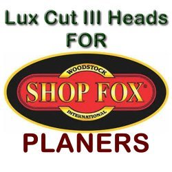 Lux Cut III Heads for Planers by SHOP FOX