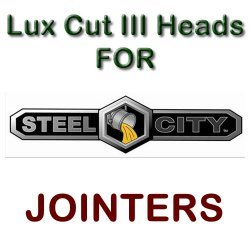 Lux Cut III Heads for Jointers by STEEL CITY