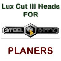 Lux Cut III Heads for Planers by STEEL CITY