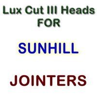 Lux Cut III Heads for Jointers by SUNHILL