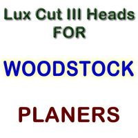 Lux Cut III Heads for Planers by WOODSTOCK