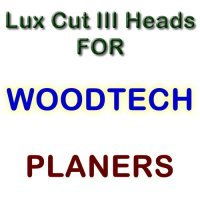 Lux Cut III Heads for Planers by WOODTECH