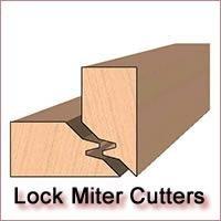 Lock Miter Molding Knives