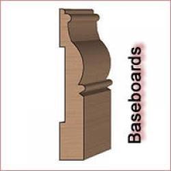 Baseboard Molding Knives