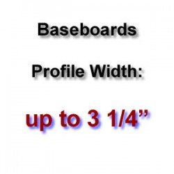 Profile Width: up to 3 1/4''