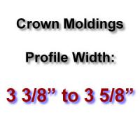 Profile Width: 3 3/8'' to 3 5/8''