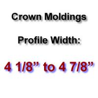 Profile Width: 4 1/8'' to 4 7/8''