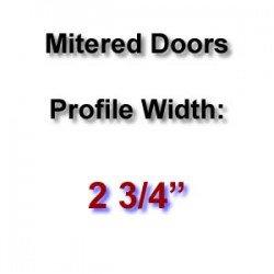 Profile Width: 2 3/4''