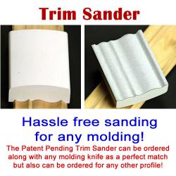 Trim Sander for any Molding
