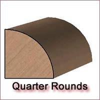 Quarter Round Molding Knives