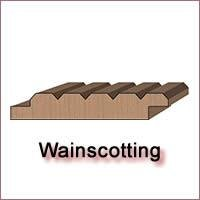 Wainscotting Molding Knives