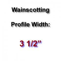 Profile Width: 3 1/2''
