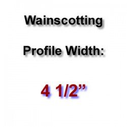 Profile Width: 4 1/2''