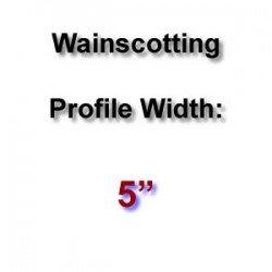 Profile Width: 5''