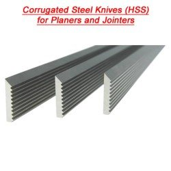 Corrugated Knives