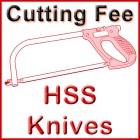 Cut HSS Knife Bar - 1 Cut