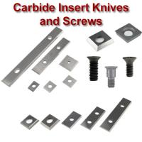 Carbide Insert Knives and Screws