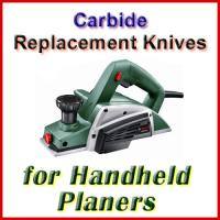 Carbide Handheld Electric Planer Knife Sets