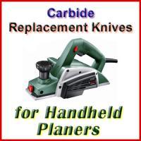 Handheld Electric Planer Knife Sets (Carbide)
