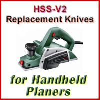 Handheld Electric Planer Knife Sets (HSS)