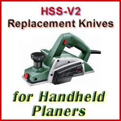 HSS Handheld Electric Planer Knife Sets