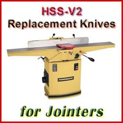 HSS Jointer Knife Sets, sorted by Machine Manufacturer