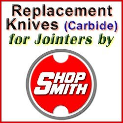 Replacement Blades (Carbide) for Jointers by Shopsmith