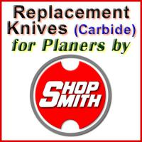 Replacement Blades (Carbide) for Planers by Shopsmith