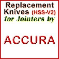 Replacement Blades (HSS) for Jointers by Accura