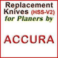 Replacement Blades (HSS) for Planers by Accura