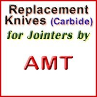 Replacement Blades (Carbide) for Jointers by AMT